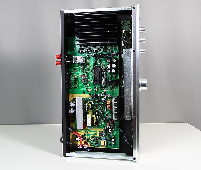 Auna AVR-CD508-BT Innenleben Gesamt1