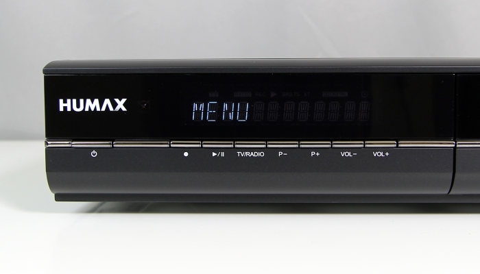 Humax DVR-9900C Display Bedienelemente