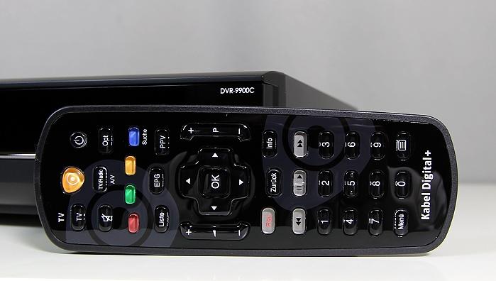 Humax DVR-9900C Fernbedienung