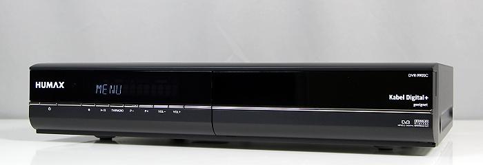 Humax DVR-9900C Front Seitlich4