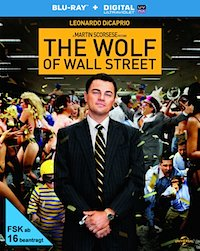 The Wolf of Wall Street Blu-ray Disc