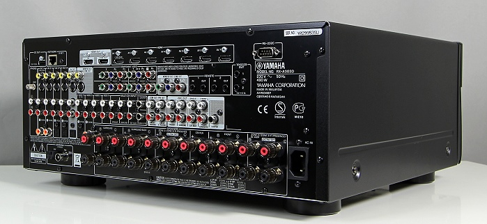 Yamaha RX-A3030 Rueckseite Seitlich1
