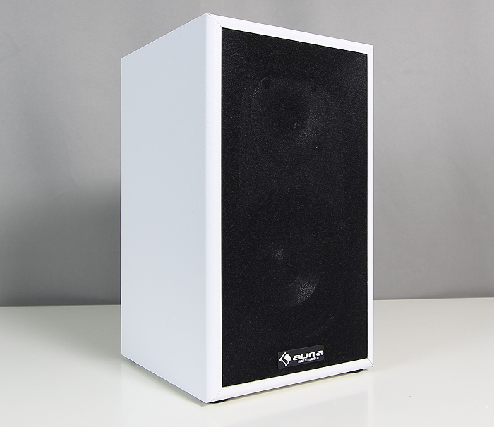 Auna AV2-Linie-300 Bookshelf Front Seitlich2
