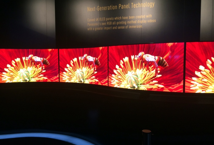 Panasonic Techology Curved 4k OLED Impressionen2