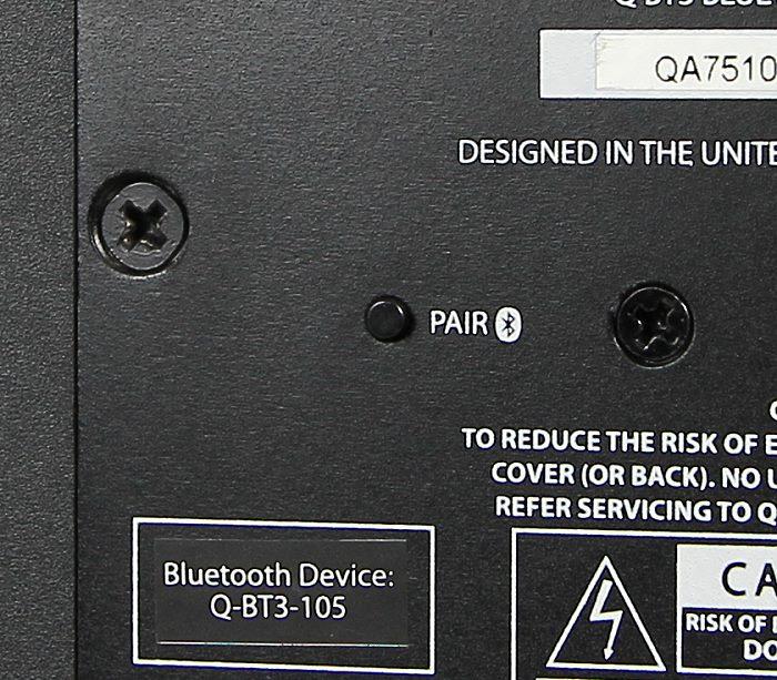 Q Acoustics Q-BT3 Bluetooth Pairing