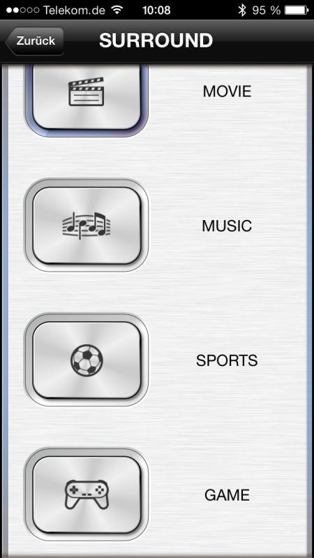 Yamaha YAS-103 App 6