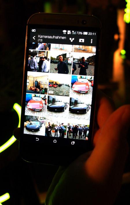 HTC One Fotogalerie