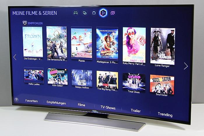 Samsung 55HU8590 Front Seitlich