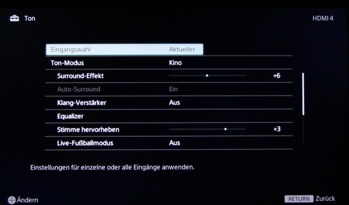 Sony KDL55W955 Screenshot12
