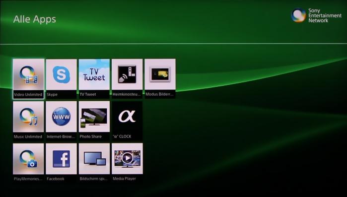 Sony KDL55W955 Screenshot3