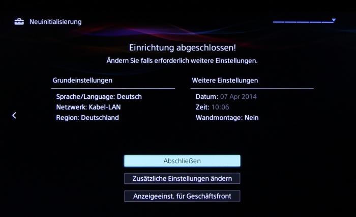 Sony KDL55W955 Screenshot33