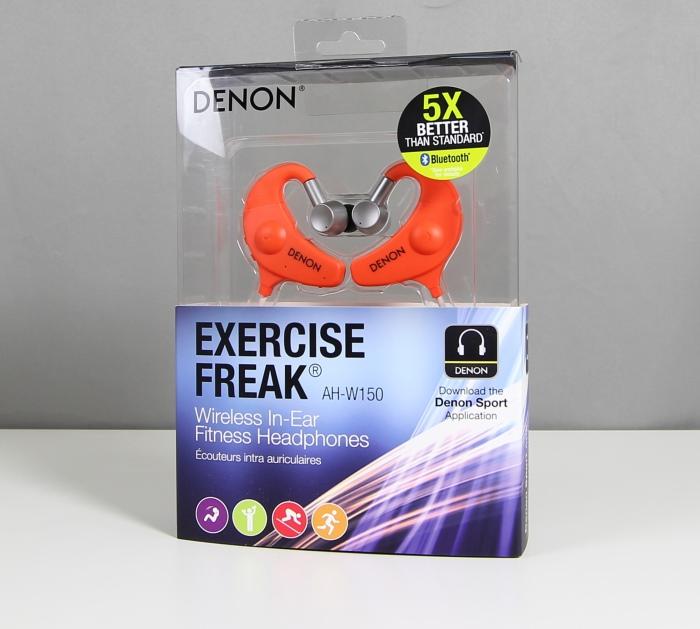 Denon Exercise Freak AH-W150 1