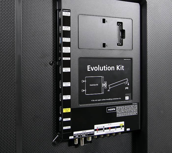 Samsung UE65H8090 Anschluesse Rueckseite1