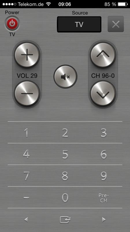 Samsung UE65H8090 App 4