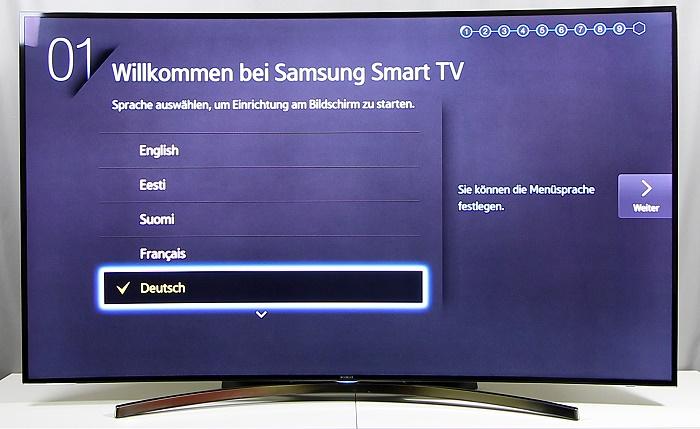 Samsung UE65H8090 Front Seitlich3