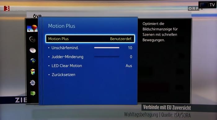 Samsung UE65H8090 Screenshots 16
