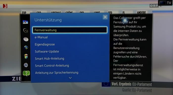 Samsung UE65H8090 Screenshots 25