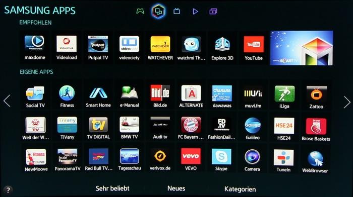 Samsung UE65H8090 Screenshots 3