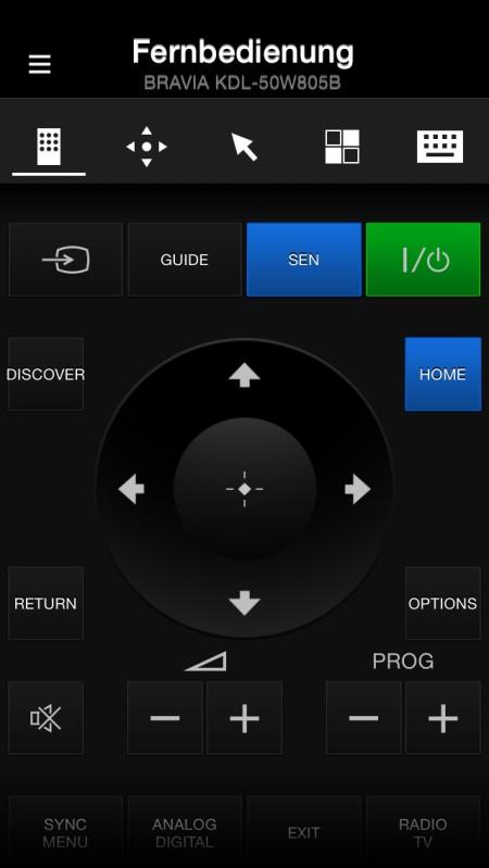 Sony KDL50W805 App17