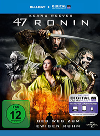 47 Ronin Blu-ray Disc