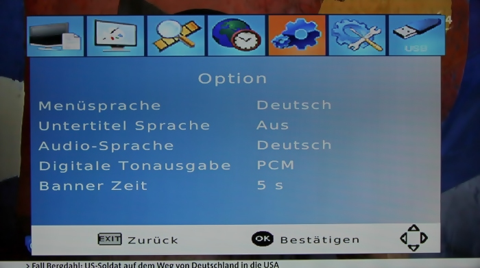 LogiSat HD55 HDMI Screenshot 11