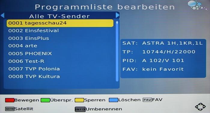 LogiSat HD55 HDMI Screenshot 6