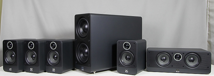 Q Acoustics 2000i Cinema Pack Gruppenbild4