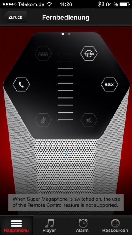 Sound Blaster Central App 8