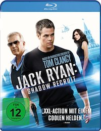 Jack Ryan Shadow Recruit Blu-ray Disc