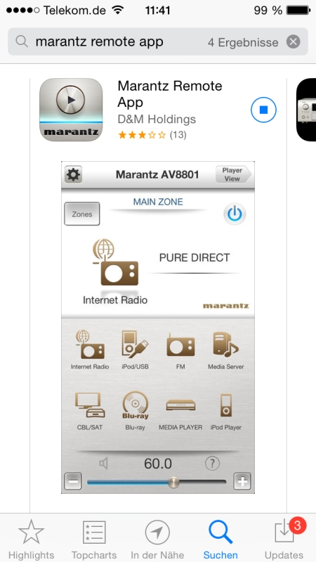 Marantz SR5009 App 1