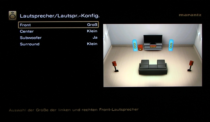 Marantz SR5009 Screenshot 28