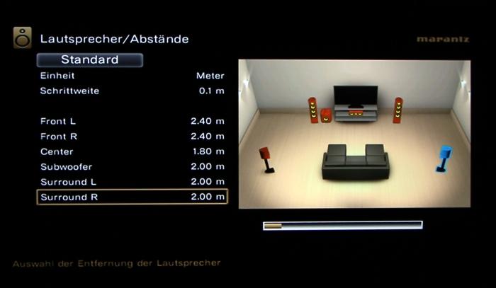 Marantz SR5009 Screenshot 29
