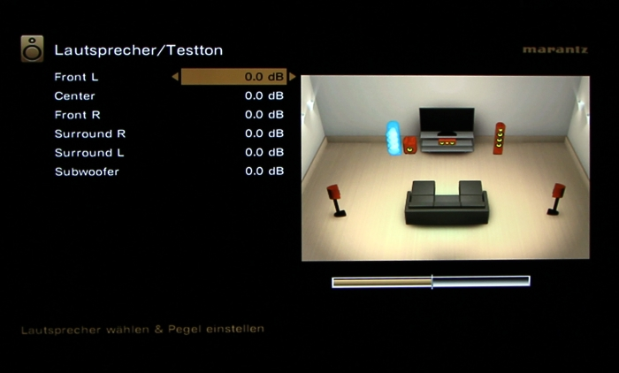 Marantz SR5009 Screenshot 30