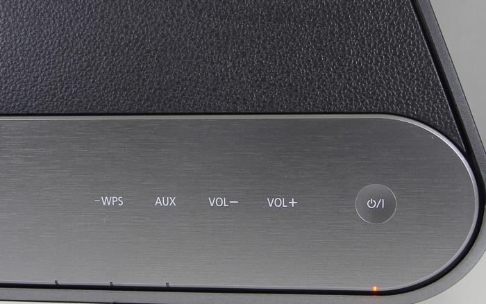 Panasonic ALL SC-ALL8 Bedienelemente Oberseite