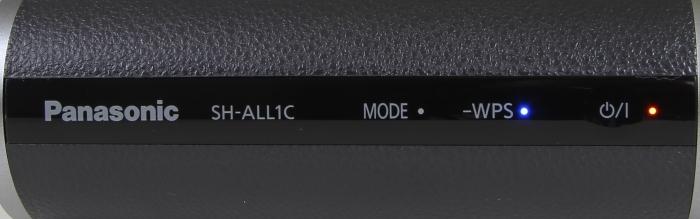 Panasonic ALL SH-ALL1C Bedienelemente