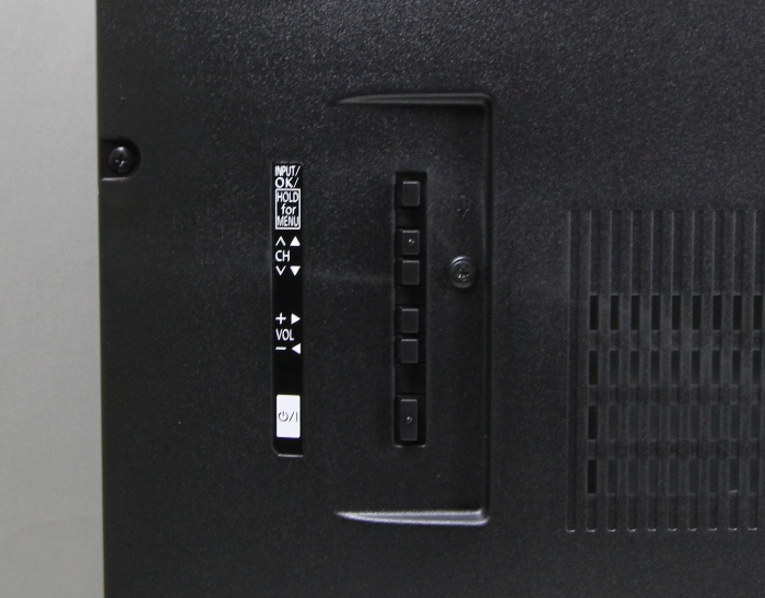 Panasonic TX-55ASW754 Bedienelemente Rueckseite
