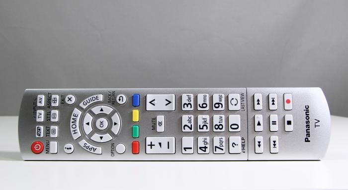 Panasonic TX-55ASW754 Fernbedienung1