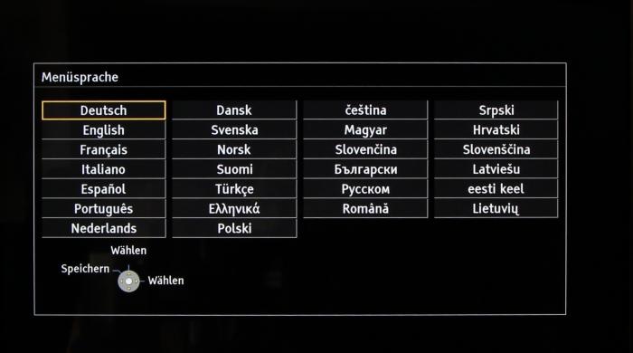 Panasonic TX-55ASW754 Screenshot 1