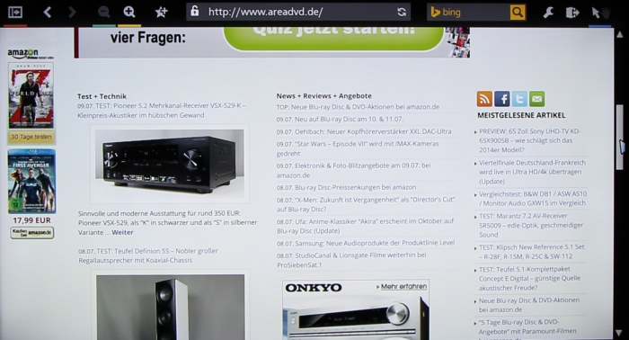 Panasonic TX-55ASW754 Screenshot 22