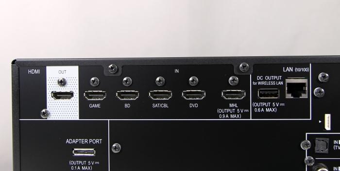 Pioneer VSX-529 Anschluesse Rueckseite1