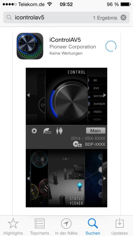 Pioneer VSX-529 App 1