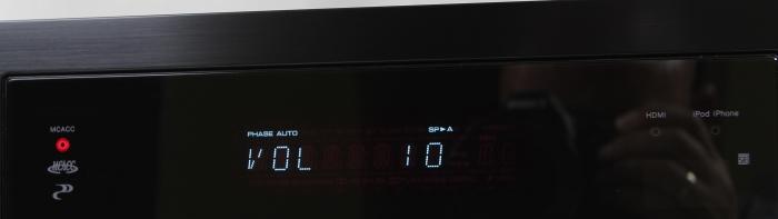 Pioneer VSX-529 Display