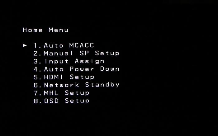 Pioneer VSX-529 Screenshot 1