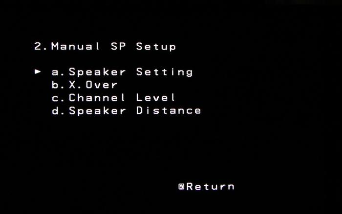 Pioneer VSX-529 Screenshot 2