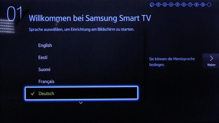 Samsung UE65HU7590 Screenshot 1