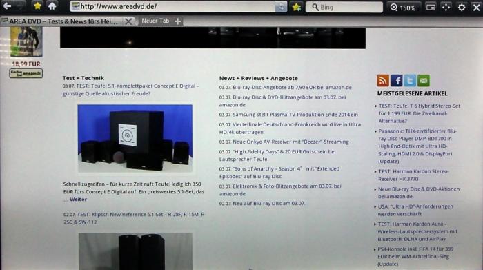 Samsung UE65HU7590 Screenshot 12