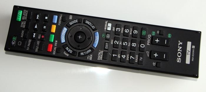 Sony KD65X9005B Fernbedienung1