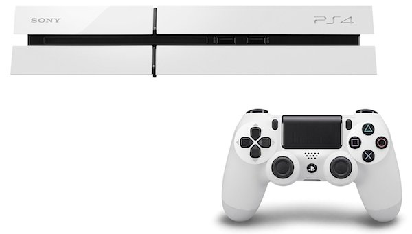 Sony Playstation 4 Weiss