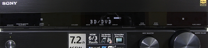 Sony STR-DN1050 Bedienelemente Front3