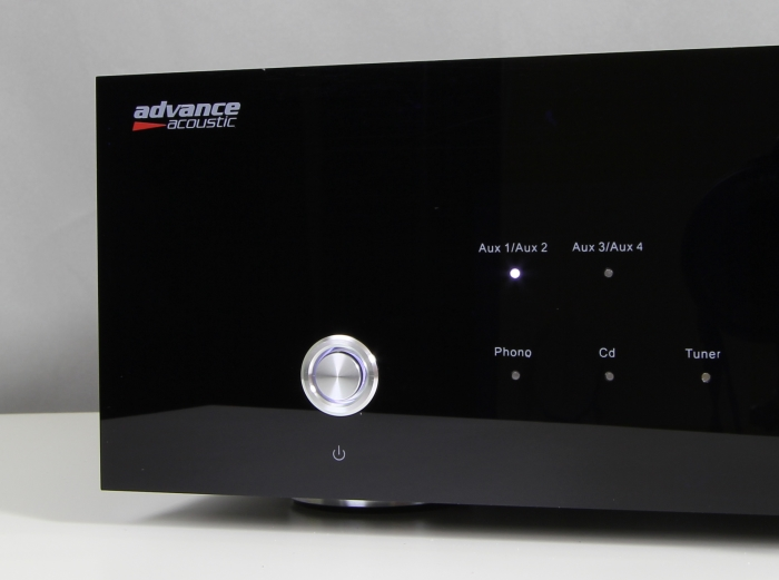 Advance Acoustics X-i90 Bedienelemente Front1